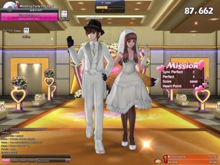 Свадьба в Audition 2
