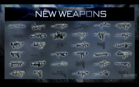 Богатый арсенал оружия