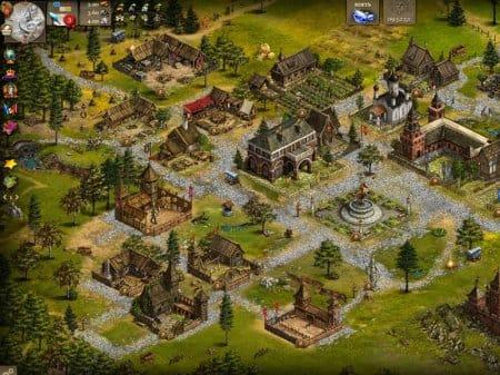 Картинка в Imperia Online 2 заметно похорошела