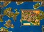 Карта. Выбор доступных действий на соседнем острове.