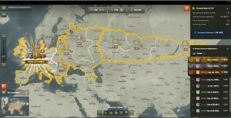 Глобальная карта WOT