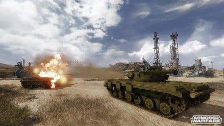Пустыня в игре Аrmored Warfare
