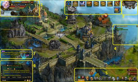Интерфейс игры Demon Slayer 3