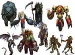Разновидности монстров в игре Royal Quest