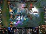 Сражение на LAN-турнире в League of Legend