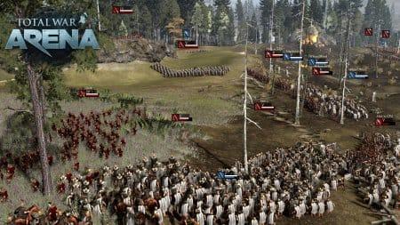 Руководите армиями в Total War: Arena